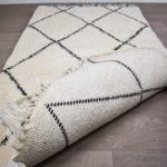 tapis berbere beni ouarain dos