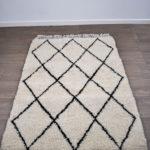 tapis berbere beni ouarain design
