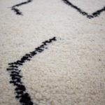tapis berbere beni ouarain matiere douce