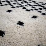 tapis berbere beni ouarain symbole matiere jolie