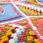 tapis berbere kilim colores matiere