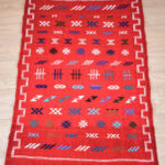 tapis berbere kilim rouge