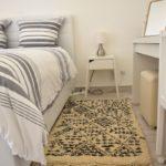tapis berbere beni ouarain point noir