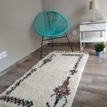 tapis berbere beni ouarain symbole matiere