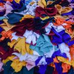 Tapis berbère – Boucherouite Multicolore