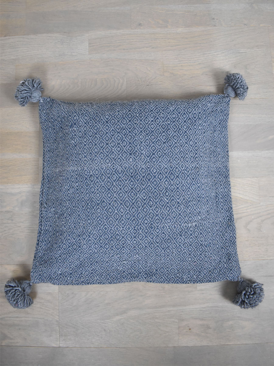 coussin berbere gris
