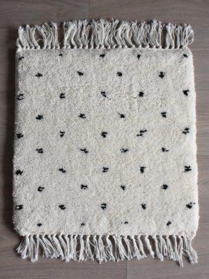 tapis berbere beni ouarain motif points