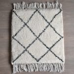 tapis berbere beni ouarain motif losanges