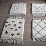 tapis berbere beni ouarain motif Zigzag