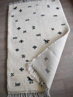 tapis berbere beni ouarain symbole