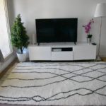 tapis berbere beni ouarain motif traits croisés